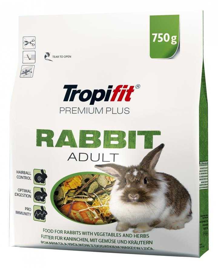 TROPIFIT PREMIUM PLUS RABBIT ADULT
