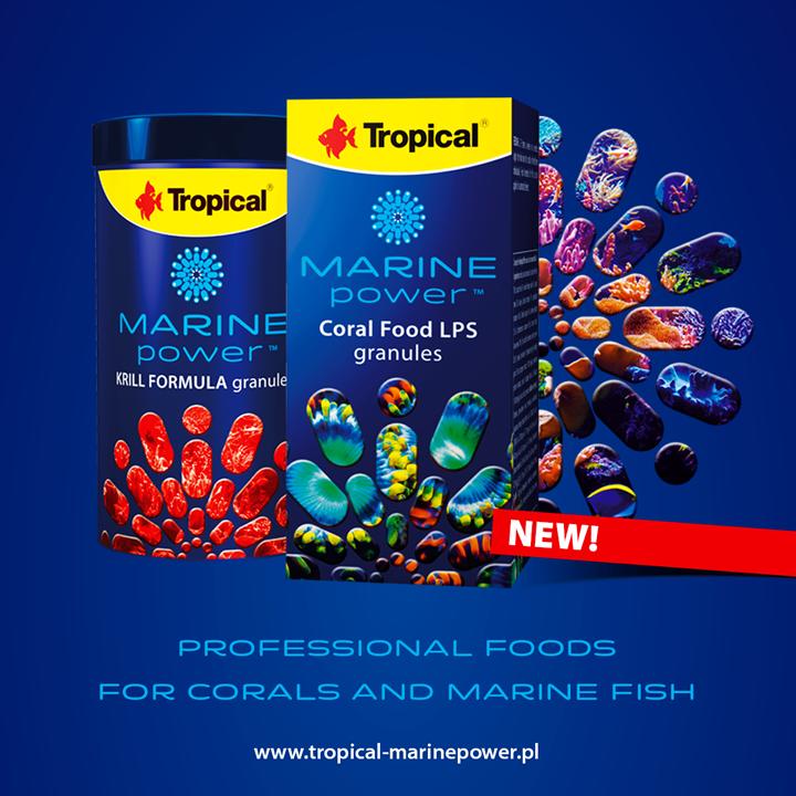 Nowa linia pokarmów Marine Power