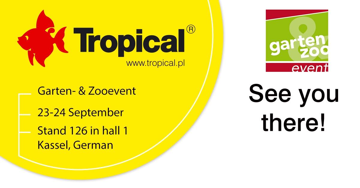 Tropical na targach Garten- & Zooevent w Kassel