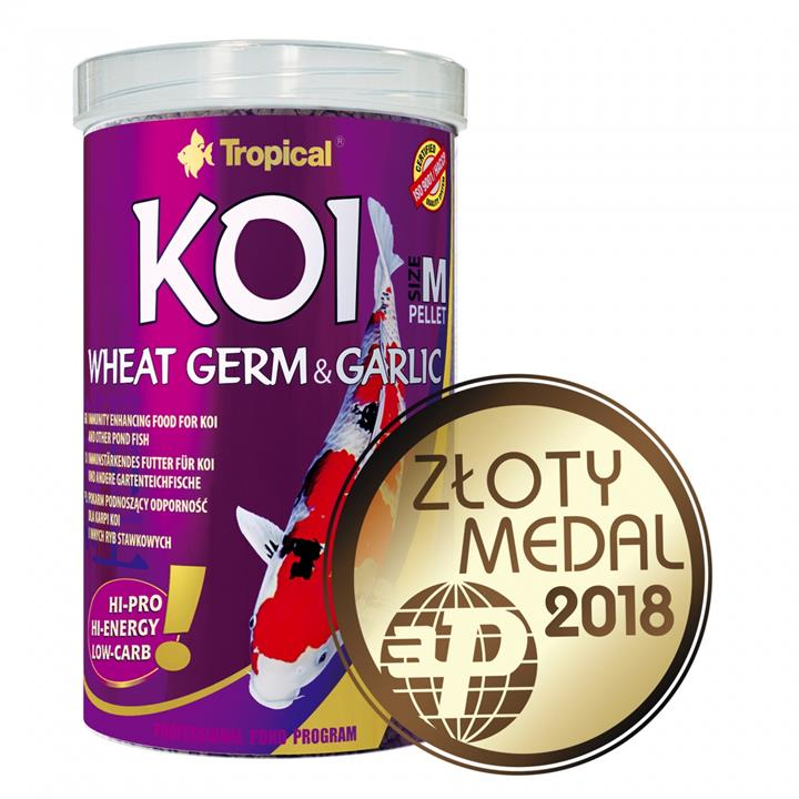 KOI WHEAT GERM&GARLIC PELLET SIZE M