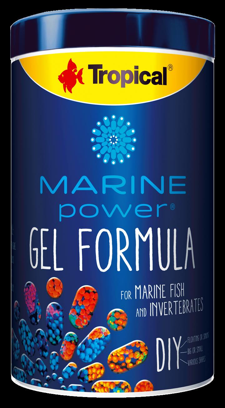 MARINE POWER GEL FORMULA FOR MARINE FISH AND INVERTEBRATES