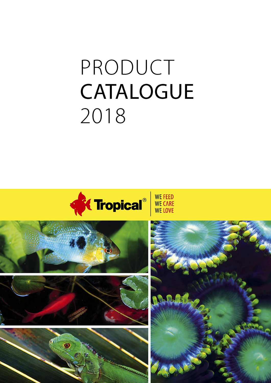TROPICAL - Product catalogue 2018