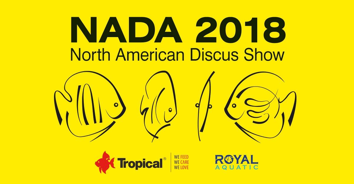 Tropical na NADA 2018 North American Discus Show w New Jersey, USA!