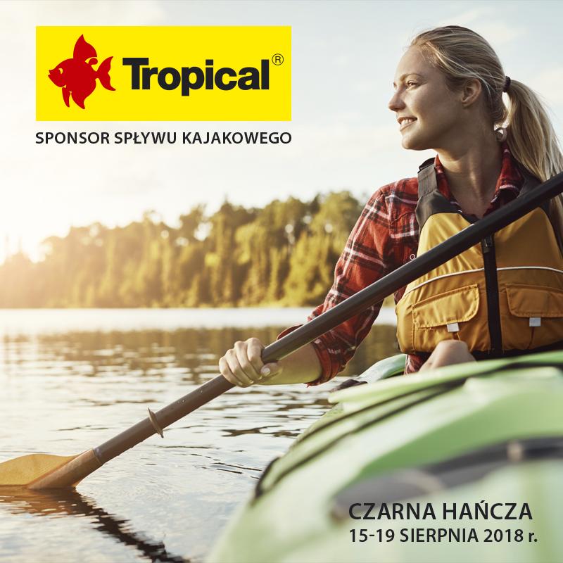 Tropical sponsorem II Akwarystycznego Spływu Kajakowego