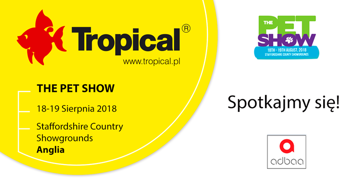 Tropical na Pet Show w Staffordshire Country Showgrounds w Anglii!