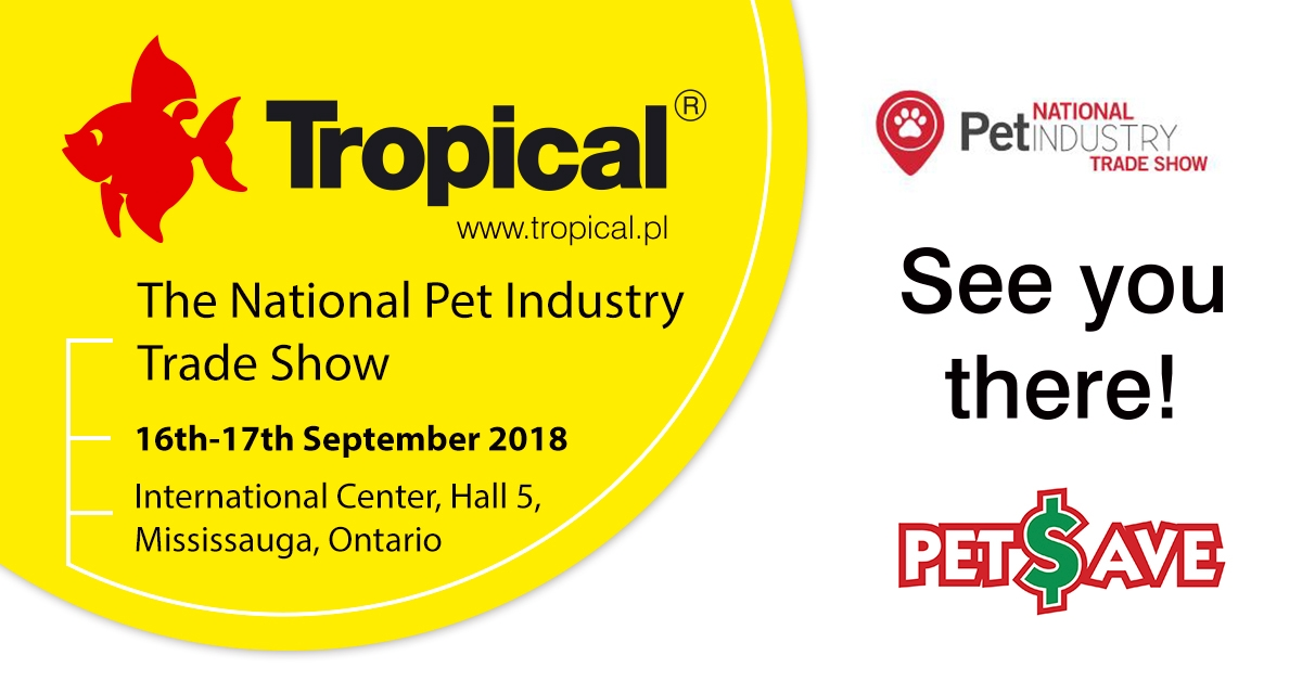 Tropical na National Pet Industry Trade Show w Kanadzie