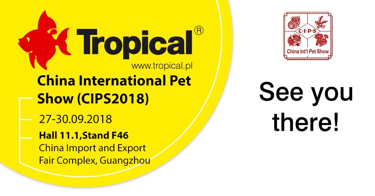Tropical na targach CIPS 2018