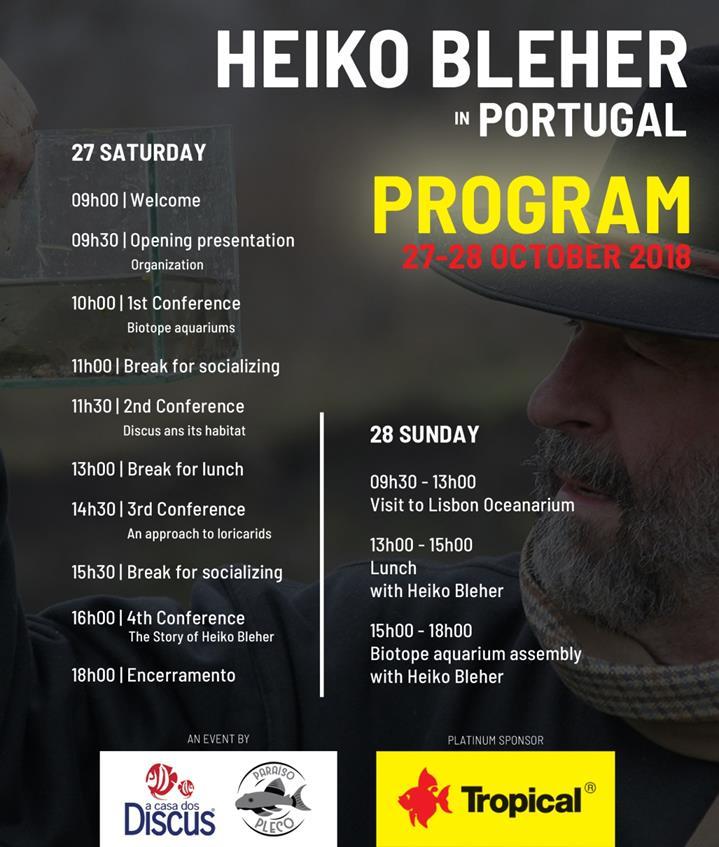 Wykłady Heiko Blehera w Lizbonie