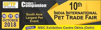 Tropical na targach 10th India International Pet Trade Fair