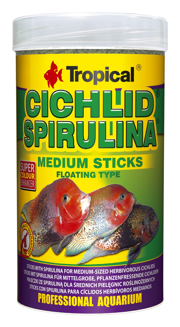 CICHLID SPIRULINA MEDIUM STICKS