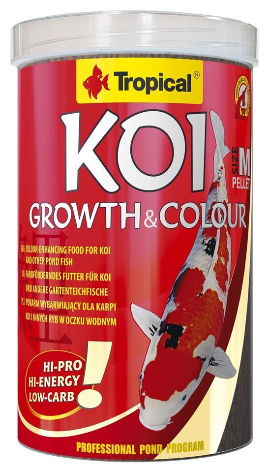 KOI GROWTH & COLOUR PELLET SIZE M