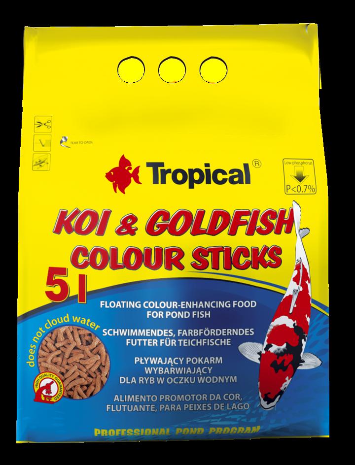 KOI&GOLDFISH COLOUR STICKS