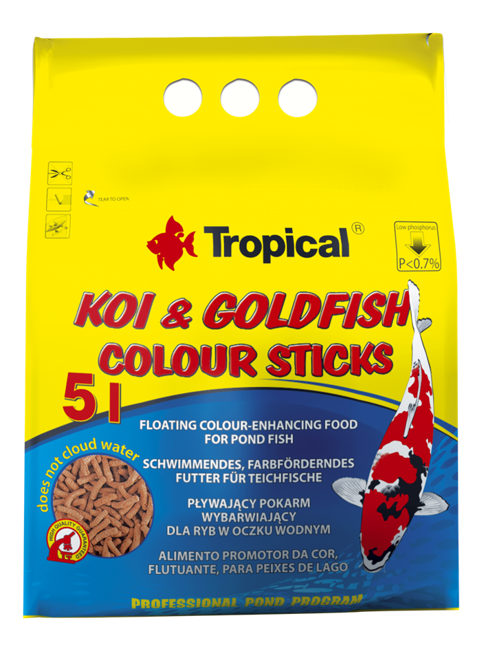 KOI&GOLDFISH COLOUR STICKS
