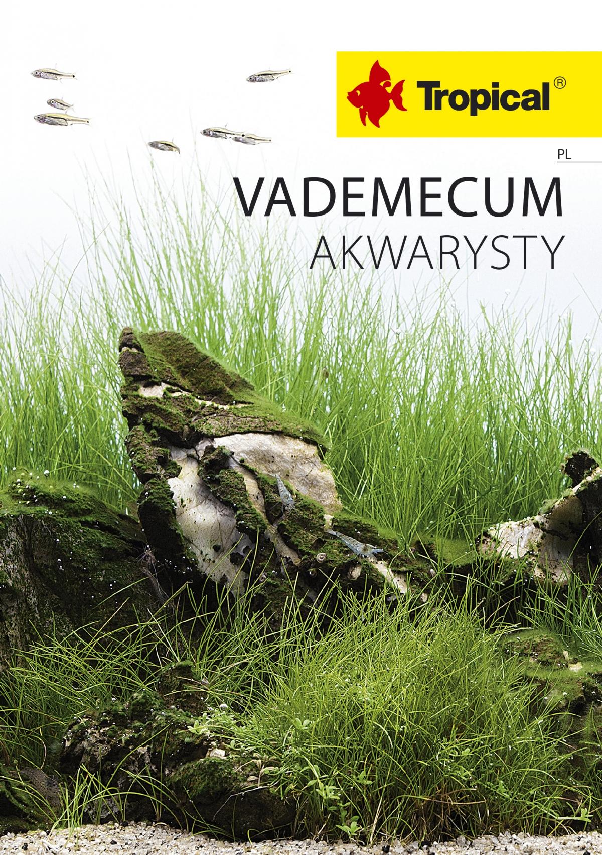 TROPICAL Vademecum Akwarysty 2018 - PL
