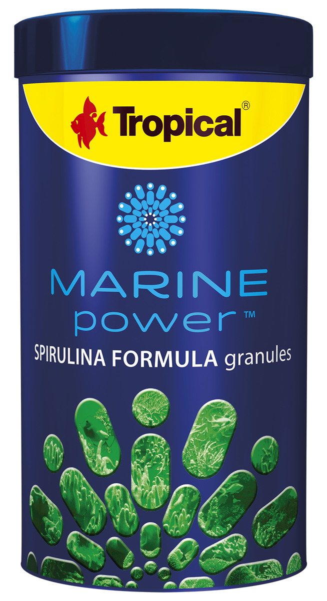 Marine Power Spirulina Formula Granules