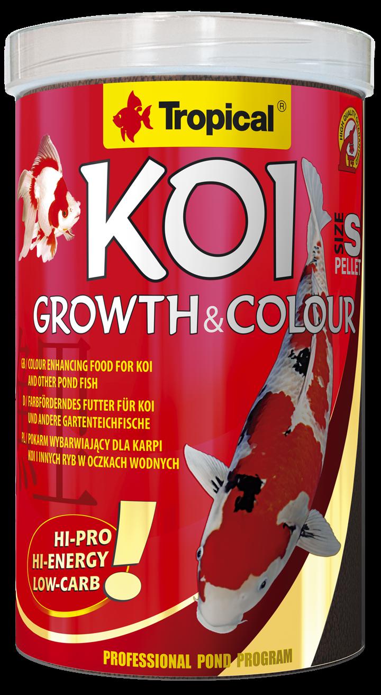 Koi Growth & Colour Pellet Size S