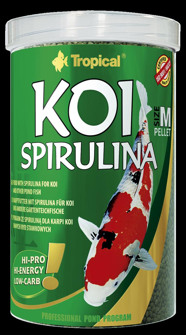 Koi Spirulina Pellet Size M