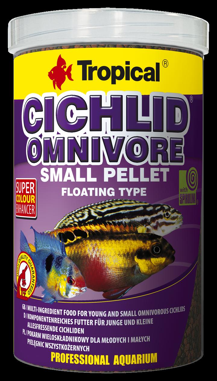 Cichlid Omnivore Small Pellet