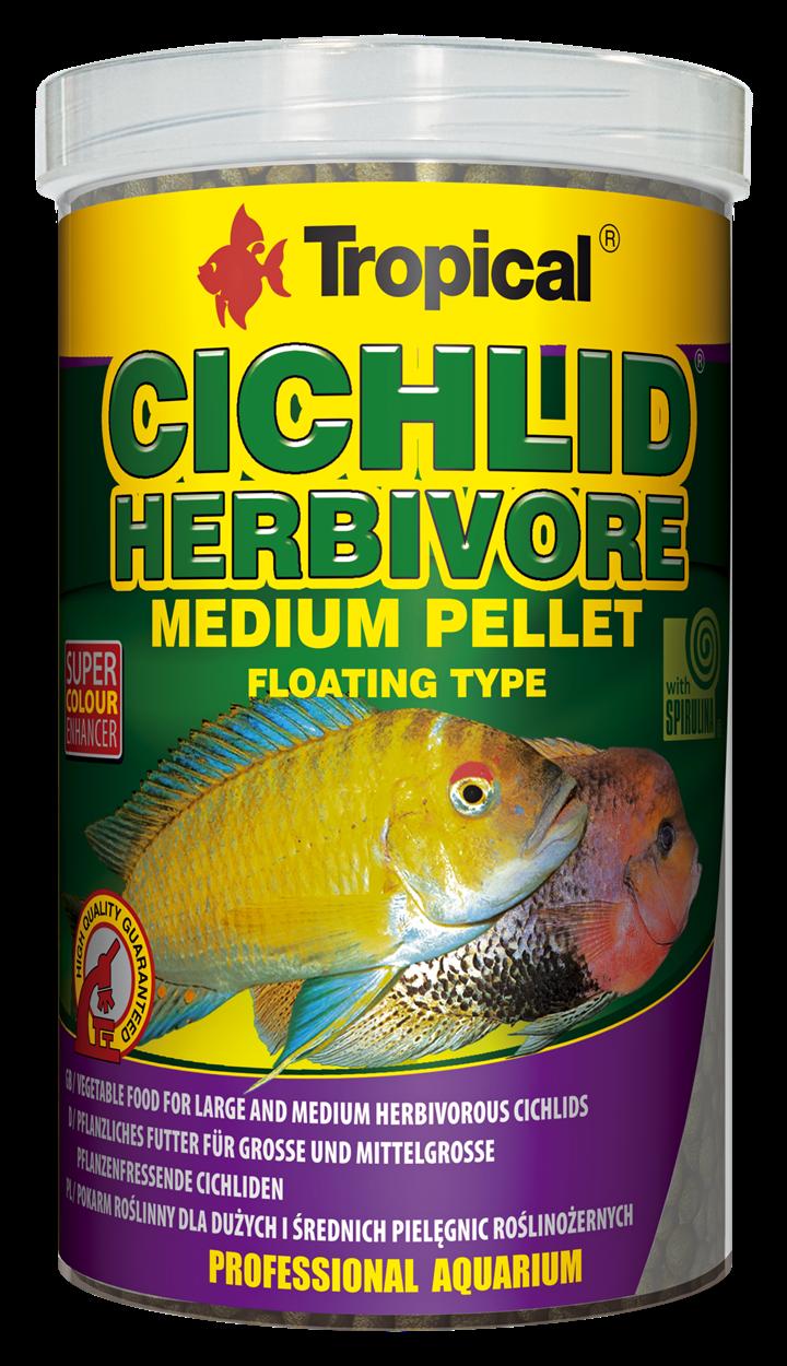 Cichlid Herbivore Medium Pellet