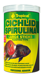 CICHLID SPIRULINA LARGE STICKS